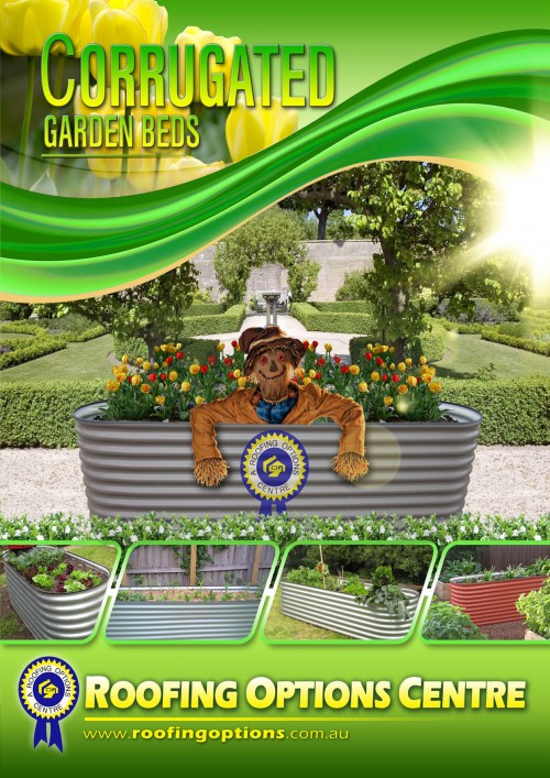 Corrugated garden beds brochure