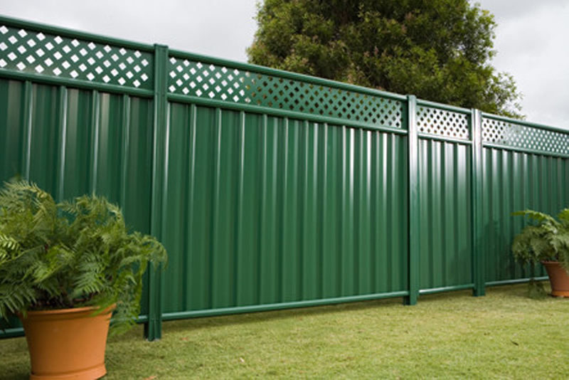Neeta Colorbond Steel Fencing
