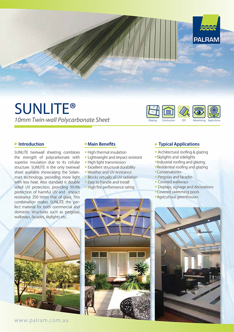 Sunlite Twinwall Brochure