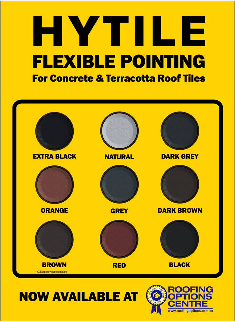 Hytile Flexible Pointing Colour Chart