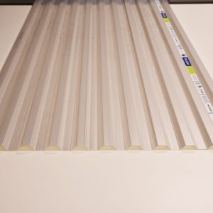 Sunsky Polycarbonate Melbourne | Greca | Diffused Ice | Roofing Options Centre