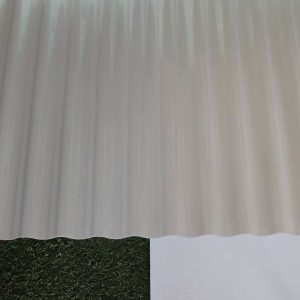 Ampelite Solasafe Corrugated Pearl Ice | Polycarbonate Roofing Melbourne | Roofing Options Centre