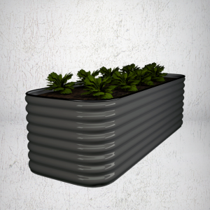 Square Slim Raised Garden Bed