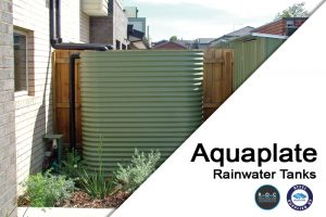 Aquaplate Steel Rainwater Tanks