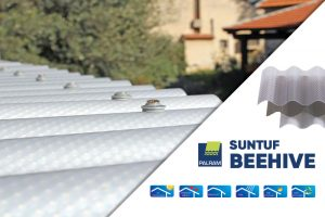 Beehive Polycarbonate Roofing