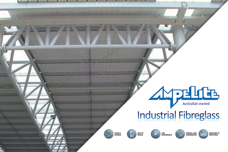 Industrial Fibreglass Roofing