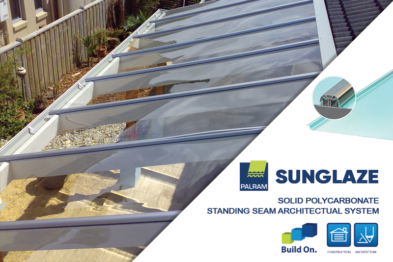 Sunglaze Solid Polycarbonate Roofing System