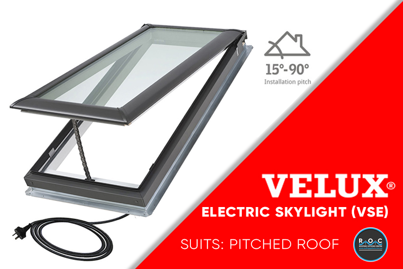 Velux Pitched Electric VSE
