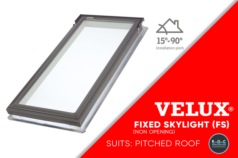 Velux Pitched Fixed FS | ROC