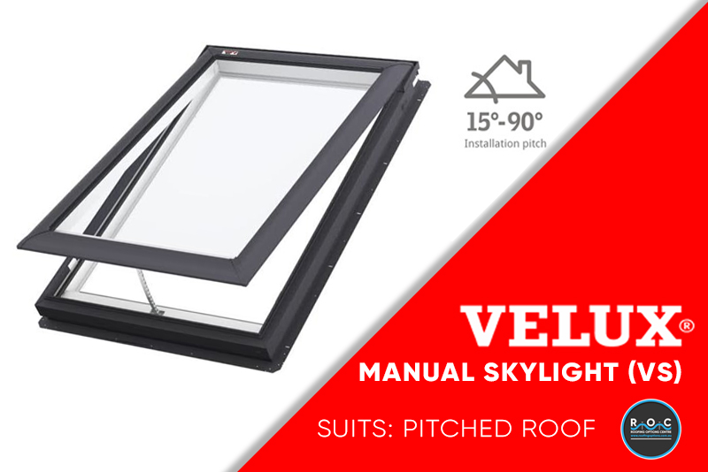 Velux Pitched Manual VS
