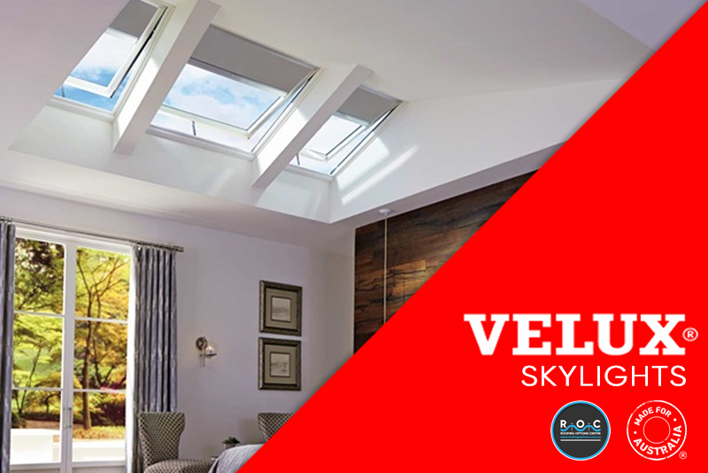 Velux Skylights Home Page | ROC