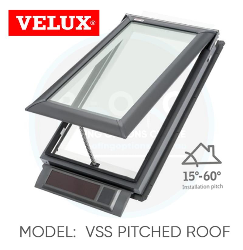 Velux VSS Solar Skylights Buy Online | ROC